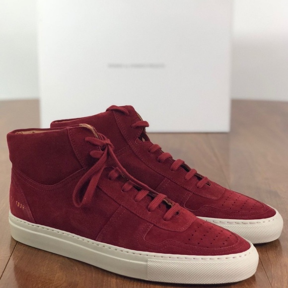 3a5a35d72287 Woman by Common Projects RED BBall Sneakers SZ.39